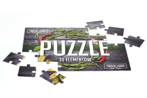 Strose™ - puzzle z indywidualny nadrukiem logo Śrem, Poznań, Szczecin.