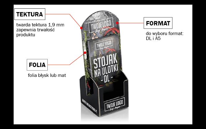 Strose™ - stojak na ulotkę Śrem, Poznań, Szczecin.